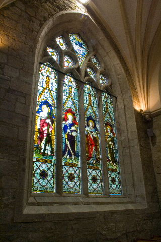 Choir South wall window